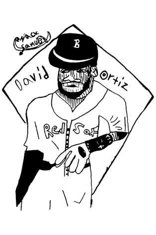 David Ortiz David Ortiz is my favorite player because he is a good hitter. He has done a great job for the Red Sox. I was amazed that he came back to baseball after his accident. -Zack Samuel, 9 years old. Photo: Contributed Photo
