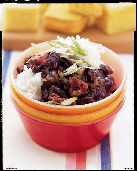 Delish: Good Housekeeping recipe for Red Beans and Rice. Photo: Mark Thomas