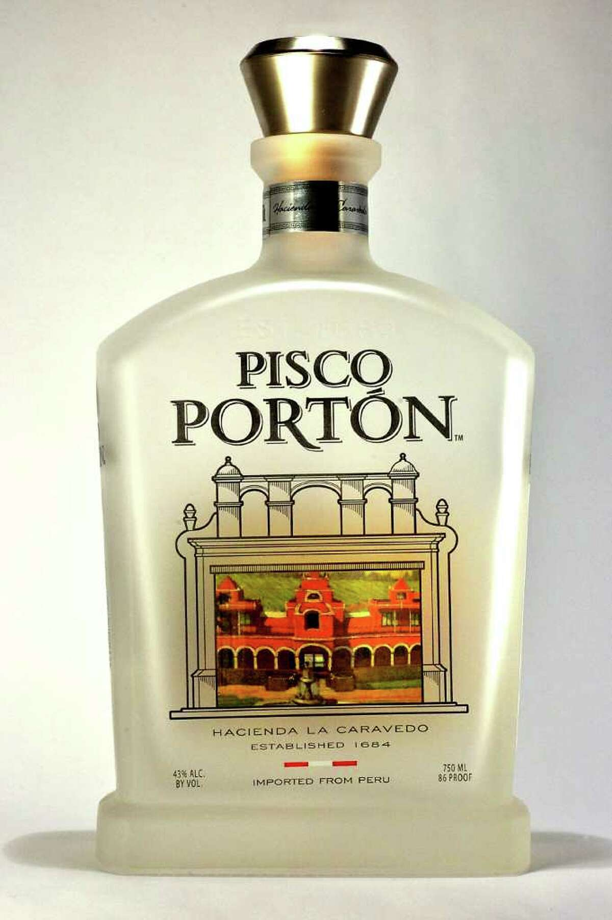 Pisco Porton, a new brand of Peruvian brandy, is produced by Johnny Schuler.