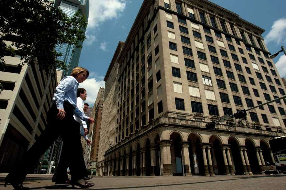 The former Texaco building at 1111 Rusk in downtown Houston was built in 1915. Photo: Johnny Hanson, Houston Chronicle / Houston Chronicle