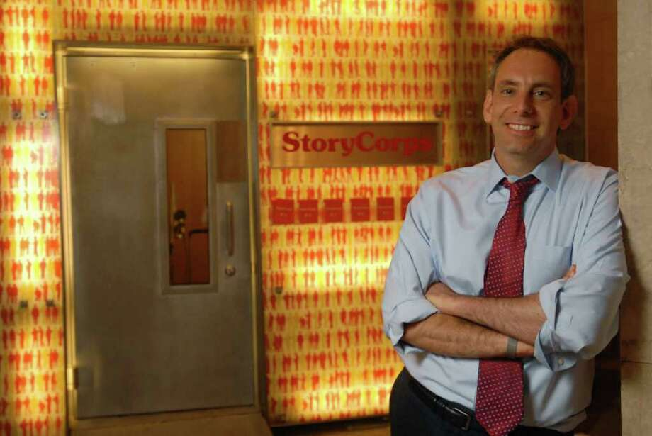 """Dave Isay, the founder of StoryCorps, is the featured guest at WSHU Public Radio's """"Join the Conversation"""" event set for Thursday, Feb. 16, at the Edgerton Center for the Performing Arts at Sacred Heart University, 5151 Park Ave., Fairfield. Reservations are required. Admission is $5. For more information, call 203-365-6604 or visit www.wshu.org. Contributed photo/Harvey Wang Photo: Contributed Photo"""