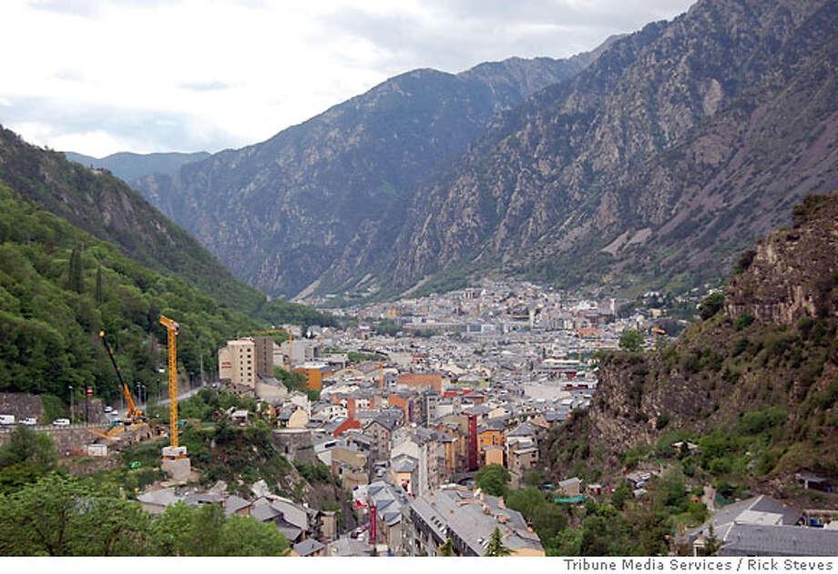 TRAVEL ANDORRA -- A view of Andorra. Photo: Rick Steves