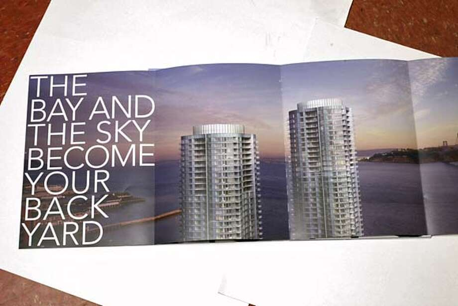 from sales brochure for the Infinity condo in S.F.; for KING15 Photo: X