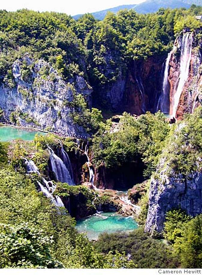TRAVEL STEVES -- Croatia's Plitvice National Park - a watery wonderland few Americans find. Photo CREDIT: Cameron Hewitt Photo: Cameron Hewitt