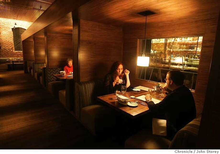"""Restaurant review of """"Myth"""" in the Financial District. John Storey/The Chronicle Photo: John Storey"""