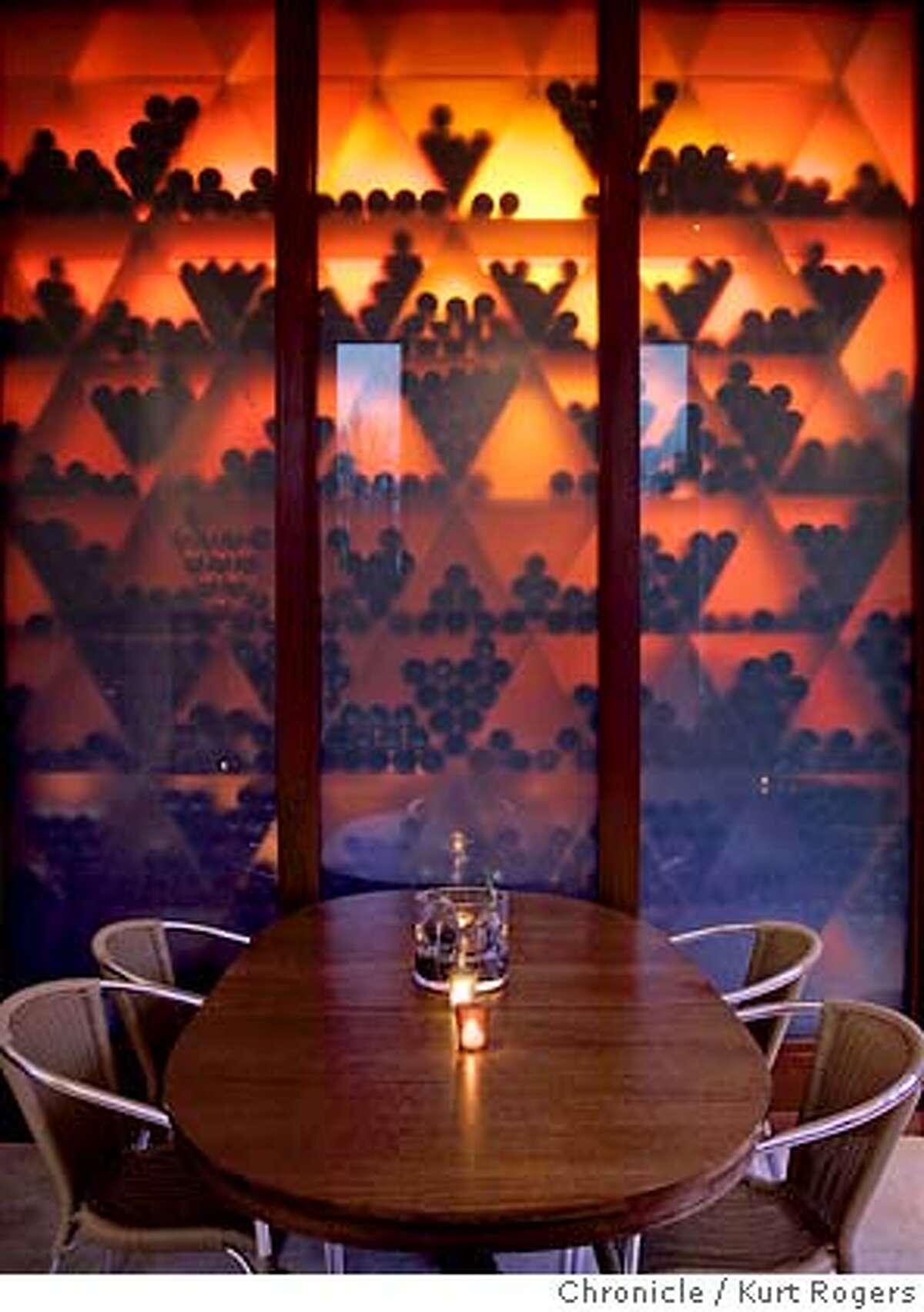 Barndiva a new restaurant/bar in Healdsburg that's shaped like a barn but is very stylish . 1/8/05 in Healdsburg,CA. KURT ROGERS/THE CHRONICLE