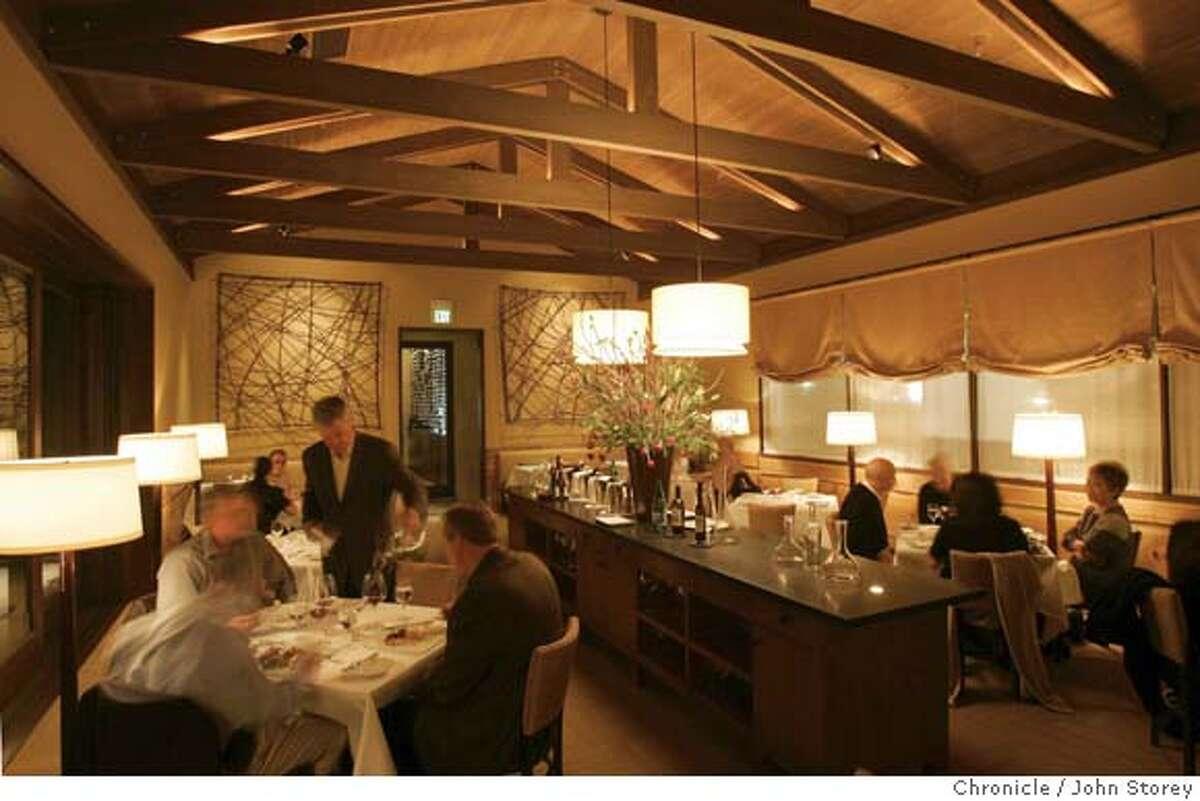 Restaurant review of the restaurant Budo in Napa. John Storey Napa, CA. 1/24/05 Napa, CA John Storey/The Chronicle