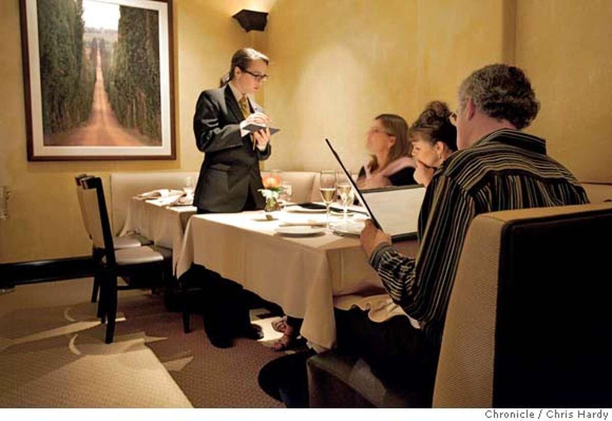 Cyrus,a new upscale restaurant in Healdsburg, in the new Les Mars Hotel. in Healdsburg 3/6/05 Chris Hardy / San Francisco Chronicle