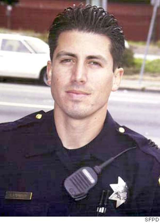 ** FILE **Undated photo of slain San Francisco Police Officer Isaac Espinoza, who was shot Sunday in the Hunterspoint Bayview area of San Francisco. Espinoza, 29, was working undercover in one of the city's most troubled neighborhoods late Saturday when he was shot twice. It was the first killing of an on-duty officer in San Francisco since 1994. (AP Photo/San Francisco Police Dept via The San Francisco Chronicle) Officer Isaac Espinoza was working undercover when he was shot twice and killed. Officer Isaac Espinoza was working undercover in the Bayview district when he was shot and killed. ProductNameChronicle UNDATED PHOTO; SAN FRANCISCO POLICE DEPT VIA THE SAN FRANCISCO CHRONICLE