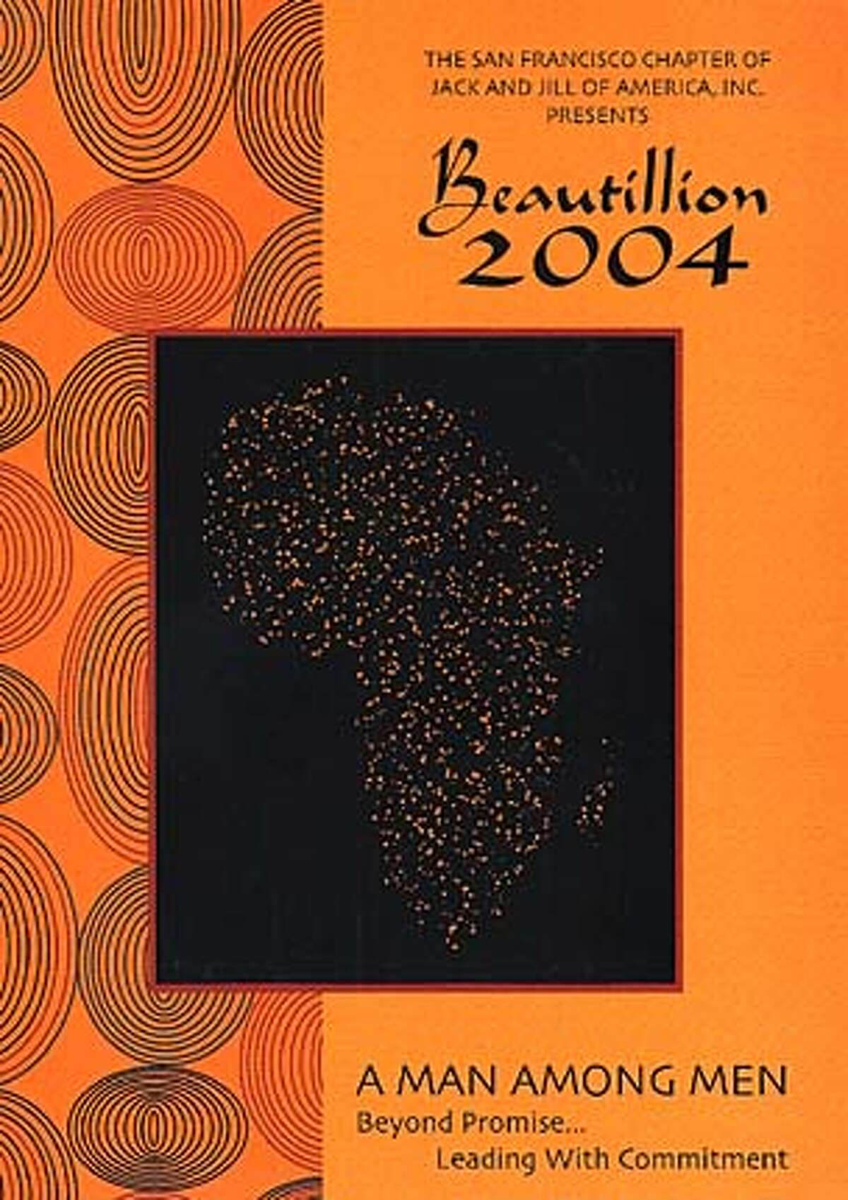 Beautillion 2004 celebrates the scholastic and community acheivements of local African American students on April 3 in SF