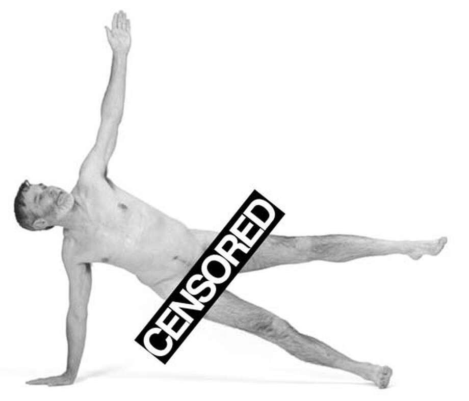 Au naturel is natural for Naked Yoga Guy