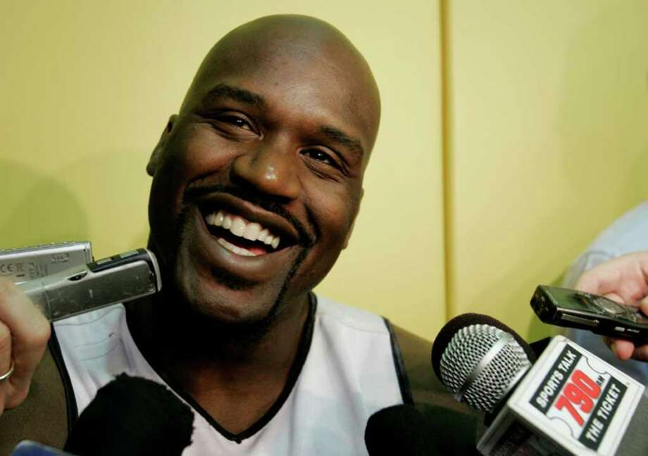 Former Cole High School, LSU and NBA star Shaquille O'Neal is now an NBA analyst for Turner Sports.  Photo: AP
