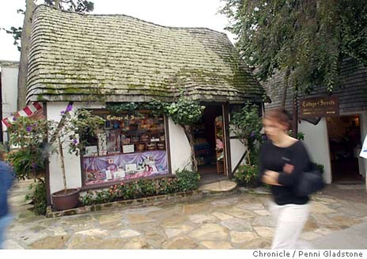 """PLACE22083_pg.jpg """"Collage of Sweets"""" cottage. Changes in Carmel yet still old, comfortable and cute 1/19/04 in Carmel. PENNI GLADSTONE / The Chronicle 6999"""