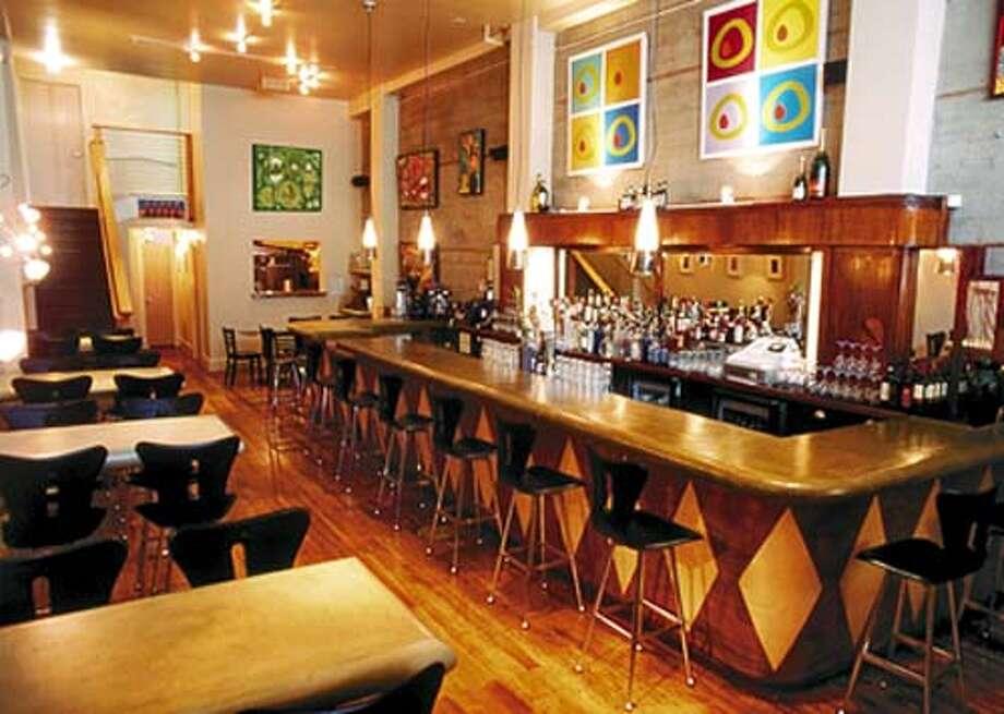 Olive Bar and Restaurant on Larkin Street in San Francisco