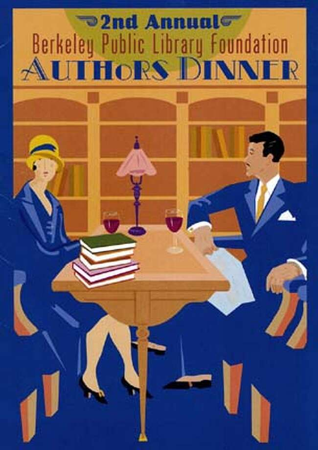 "LOCAL AUTHORS FEATURED AT THE BERKELEY PUBLIC LIBRARY FOUNDATION'S 2ND ANNUAL ""AUTHORS' DINNER"""