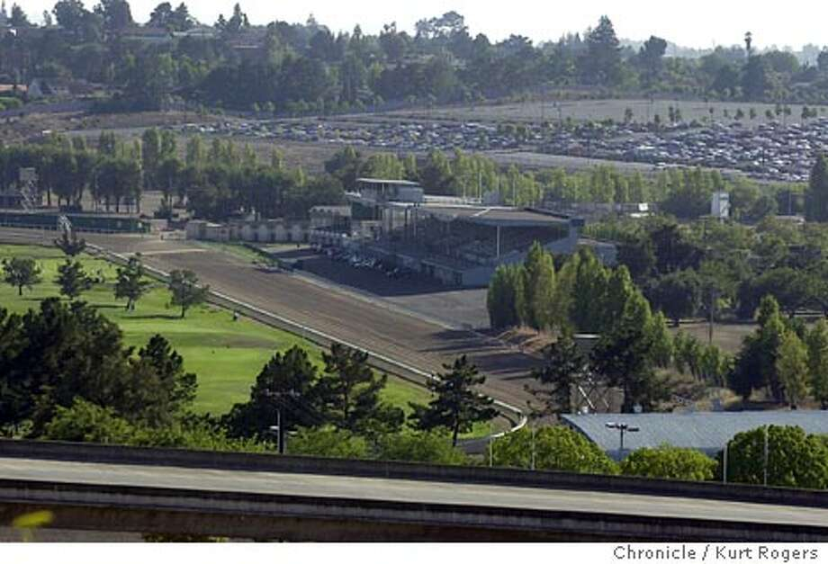 The Solano County fairgrounds race track where a plan calls for the development of the grounds into a mall or a indian casino. Event on 8/26/03 in Vallejo. KURT ROGERS / The Chronicle Photo: KURT ROGERS