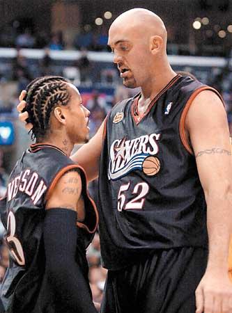 5f0ce27753fe Shocker in L.A.   NBA Finals ignite the  Iverson conspiracy  - SFGate