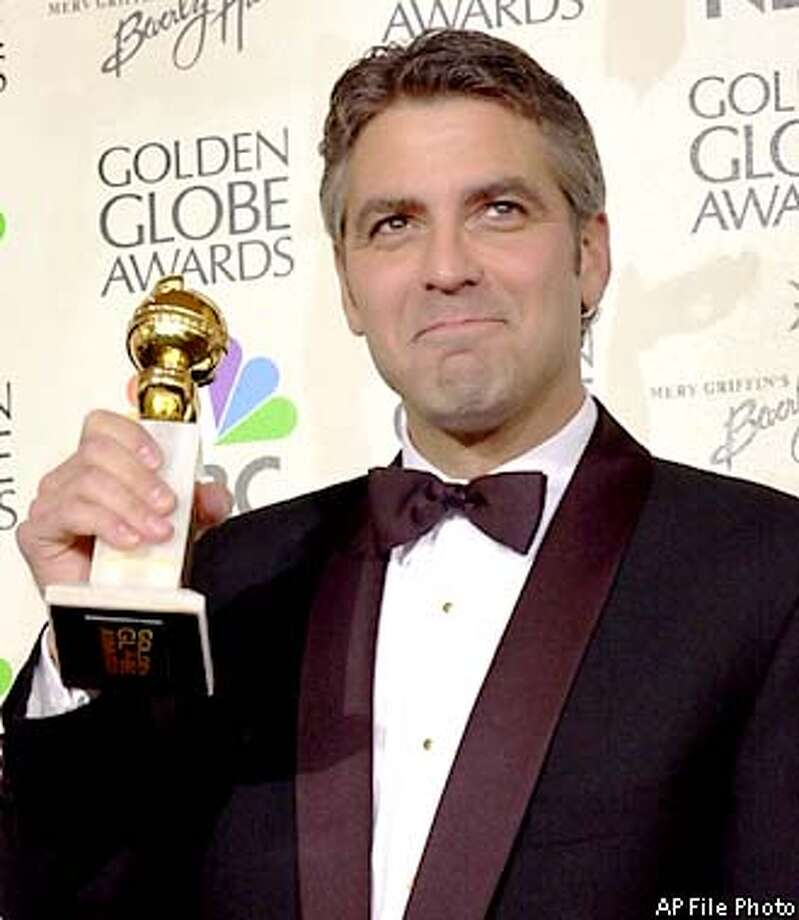 Actor George Clooney. Associated Press photo by Kevork Djansezian