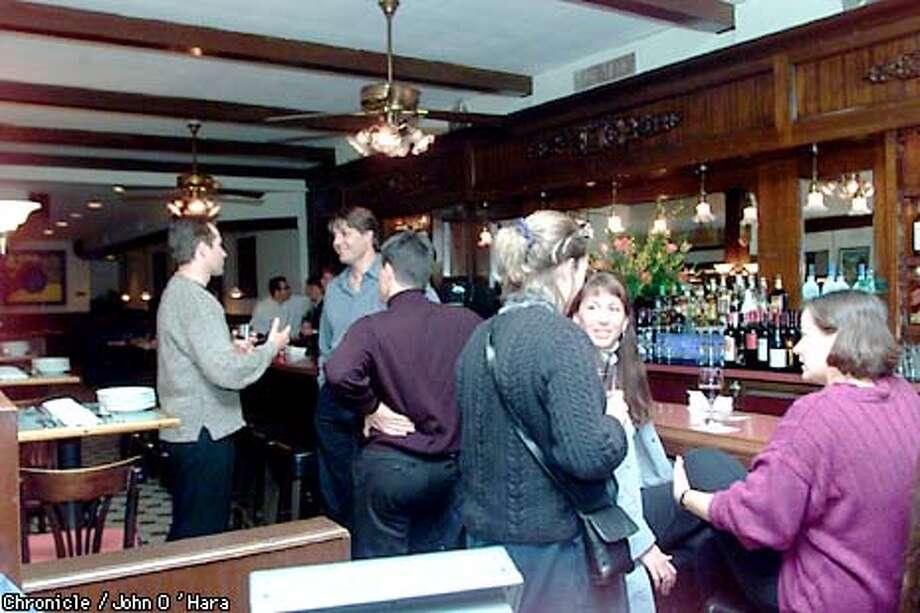 """San Francisco,CA. """"Basque"""", 398 Seventh St.  Resturant review interior resturant, bar. Exterior signage and front door  photo/John O'Hara Photo: JOHN O'HARA"""