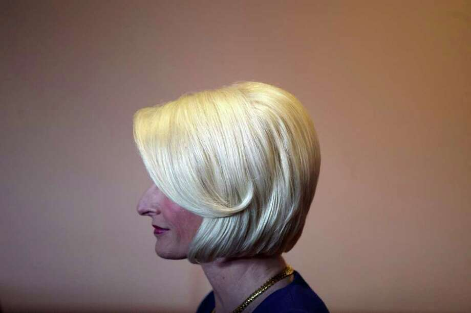 Callista Gingrich, wife of Republican presidential candidate, former House Speaker Newt Gingrich meets with Republican supporters at a Smashburger restaurant, Tuesday, Feb. 14, 2012, in San Diego. Photo: Gregory Bull, Associated Press / AP
