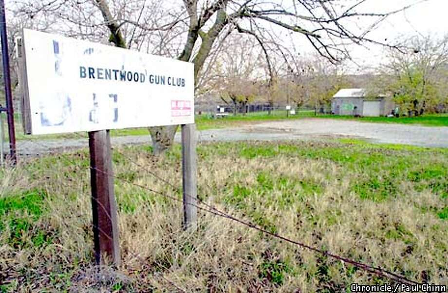 Club members abandoned the old site of the Brentwood Gun Club on Concord Ave. over a year ago assuming the relocation several miles away would proceed smoothly. The deal is being vigorously contested by concerned neighbors. Photo by Paul Chinn / The Chronicle. Photo: PAUL CHINN