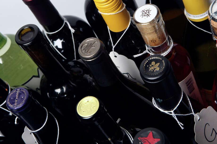 Wine for the 2012 San Antonio Wine Festival. Photo: HELEN L. MONTOYA, Helen L. Montoya/San Antonio Express-News / ©SAN ANTONIO EXPRESS-NEWS