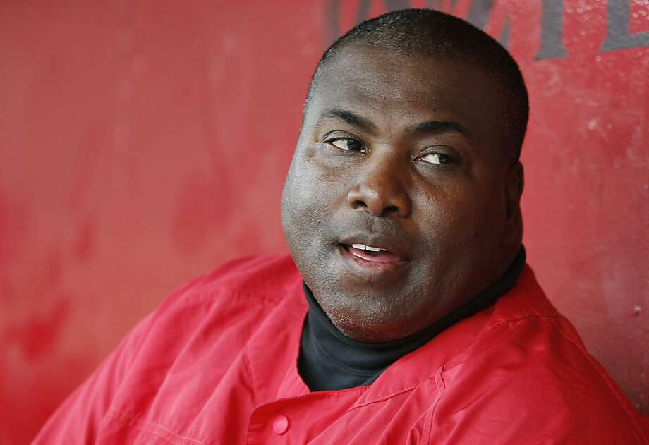 FILE - In this Jan. 30, 2006, file photo, Tony Gwynn, Hall of Fame outfielder and San Diego State head baseball coach, talks about the upcoming season while watching a practice in San Diego. Gwynn is undergoing surgery to remove a new cancerous tumor inside his right cheek, Tuesday, Feb. 14, 2012, at the Moores Cancer Center at the University of California San Diego. (AP Photo/Chris Park, File) Photo: Chris Park, Associated Press