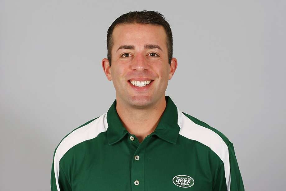 EAST RUTHERFORD, NJ - 2009: John DeFilippo of the New York Jets poses for his 2009 NFL headshot at photo day in East Rutherford, New Jersey. (Photo by NFL Photos)  EAST RUTHERFORD, NJ - 2009:  John DeFilippo of the New York Jets poses for his 2009 NFL headshot at photo day in East Rutherford, New Jersey.  (Photo by NFL Photos) Photo: NFLPhotos