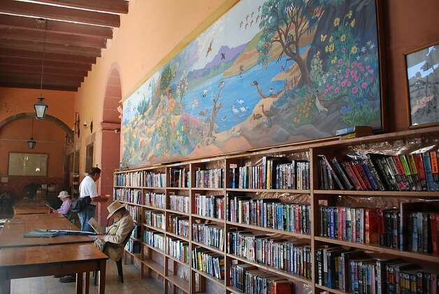 Libraries are well used and respected in San Miguel de Allende. Photo: Maribeth Mellin, Special To SFGate
