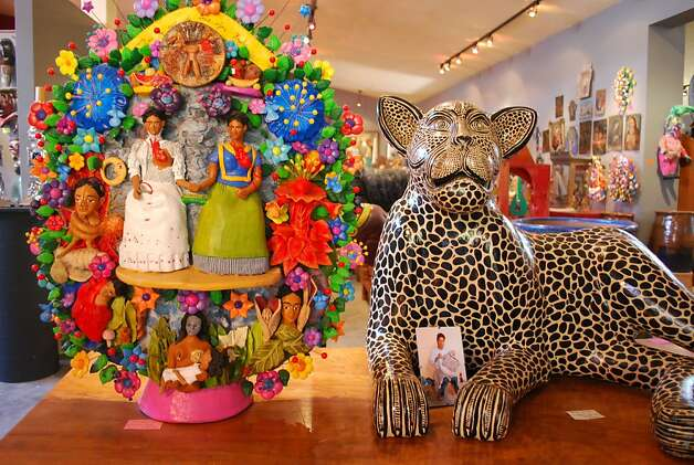 San Miguel has a vibrant arts scene, and shopping is a main attraction. Photo: Maribeth Mellin, Special To SFGate