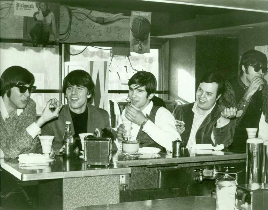 In the beginning, from left to right, The Fifth Estate featured  Brookfield resident Rick Engler, Ken Evans (now of Cape Cod), Doug Ferrara (now of Wallingford), Wayne Wadhams (formerly of Stamford), and Bill Shute of Danbury. Shute is no longer involved in the band and Wadhams is deceased, but the rest of the group rocks on. The original members are shown here in a Jubilee Records publicity photo. Photo: Contributed Photo