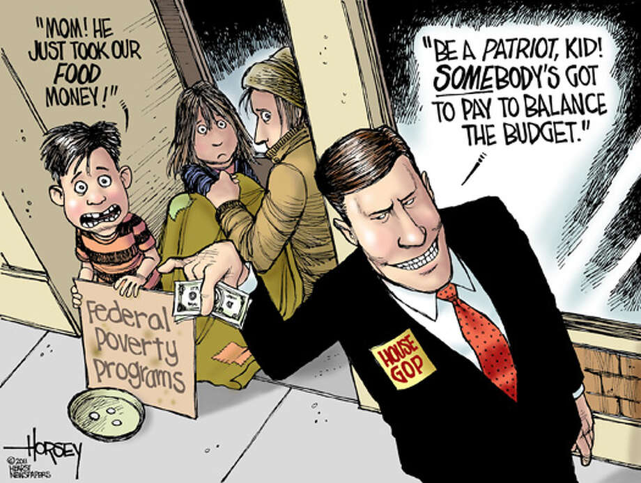 Tea Party budget hatchets are aimed at the poor