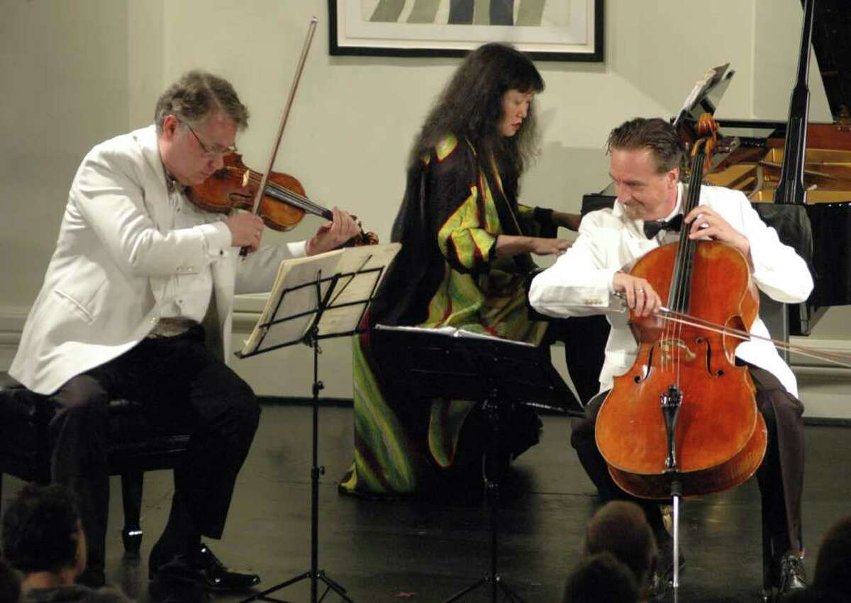?Musicians of the Year? Wu Han and David Finckel will be joined by acclaimed violinist Philip Setzer for an evening of Mendelssohn as part of the Union College Concert Series, Friday, February 17, 2012, at 8 p.m. (Tristan Cook)