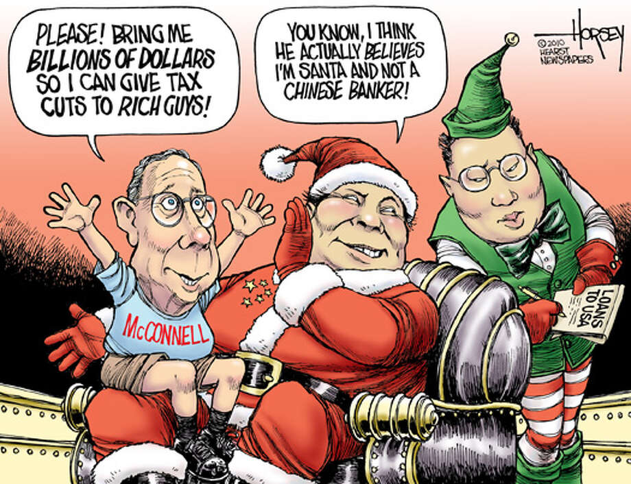 GOP still buying gifts on credit