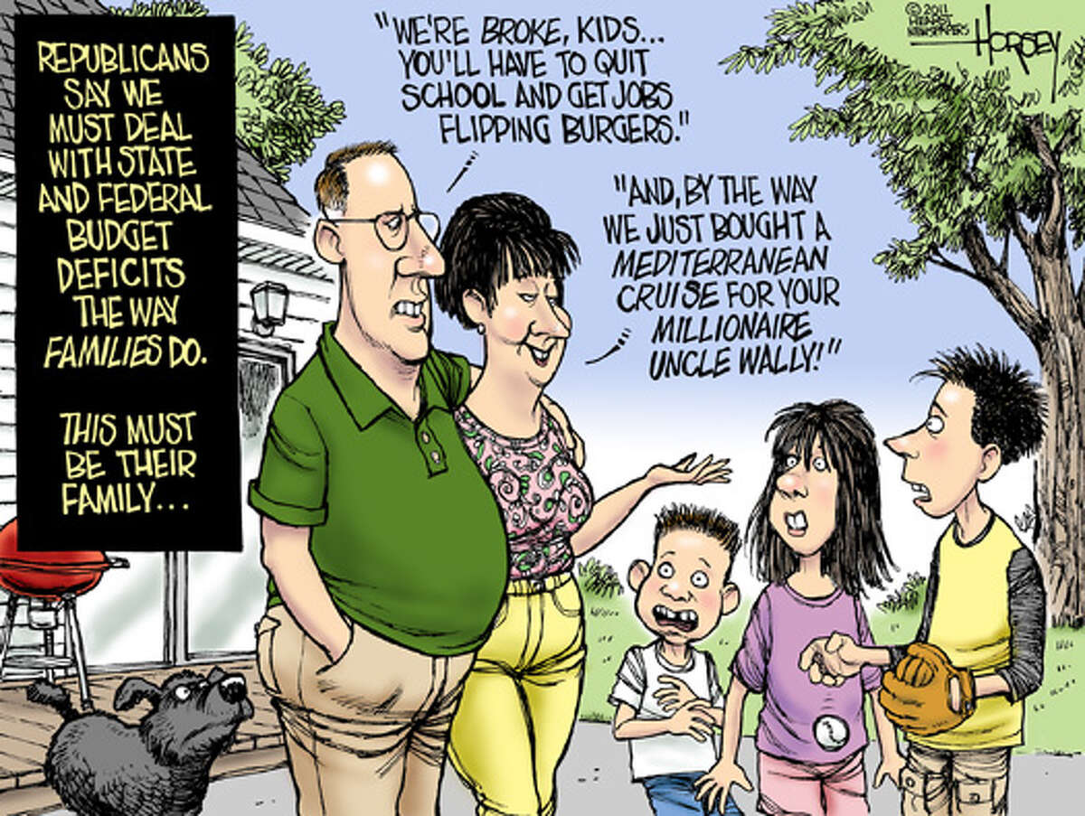 The fiscally responsible Republican family
