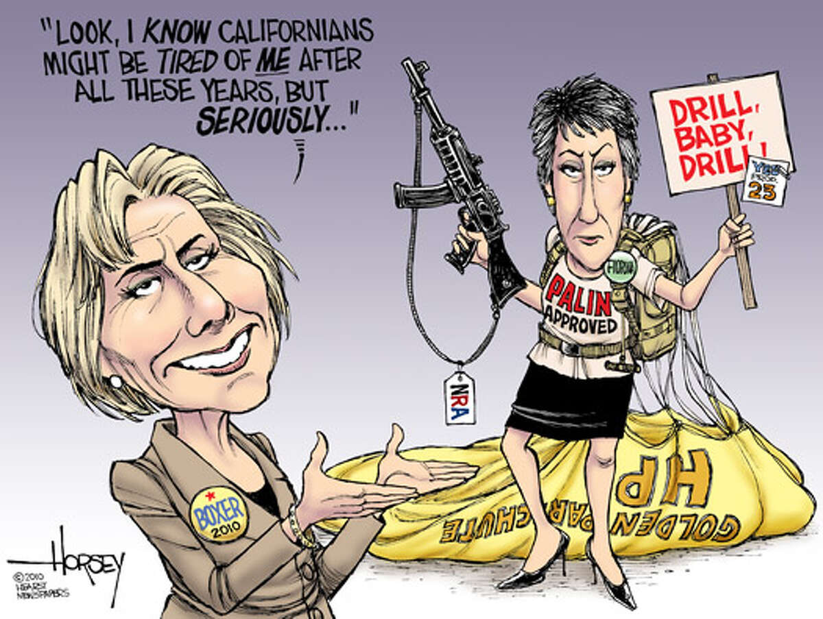 California's senate showdown