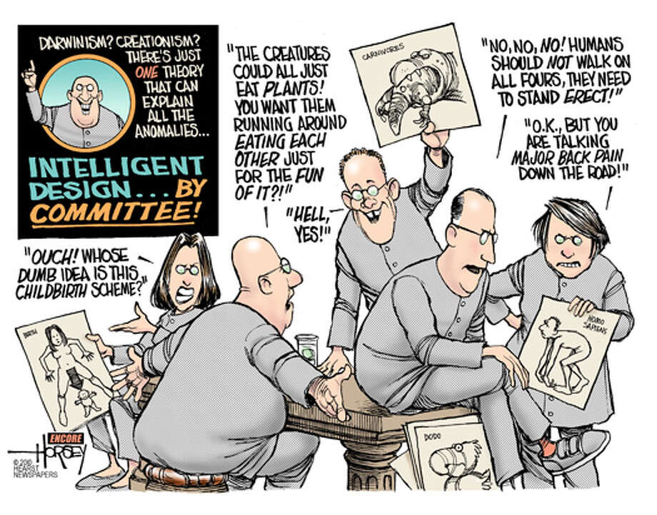 Intelligent design ... by committee!