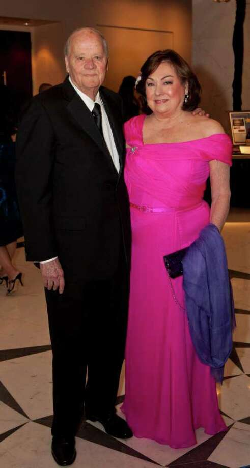 Honorees Harry and Rose Cullen at the 2012 Eye Ball, Friday, February 10, 2012. Photo: Bruce Bennett / Houston Chronicle