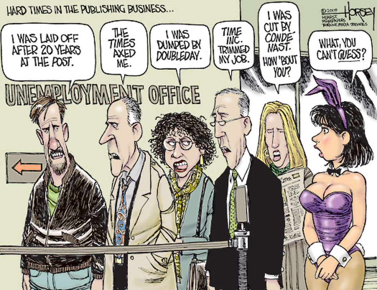 Hard times in the publishing industry ...