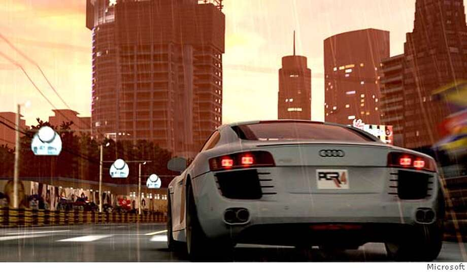 Screenshot from Project Gotham Racing 4 by Bizarre Creations. Published by Microsoft. Photo: Microsoft