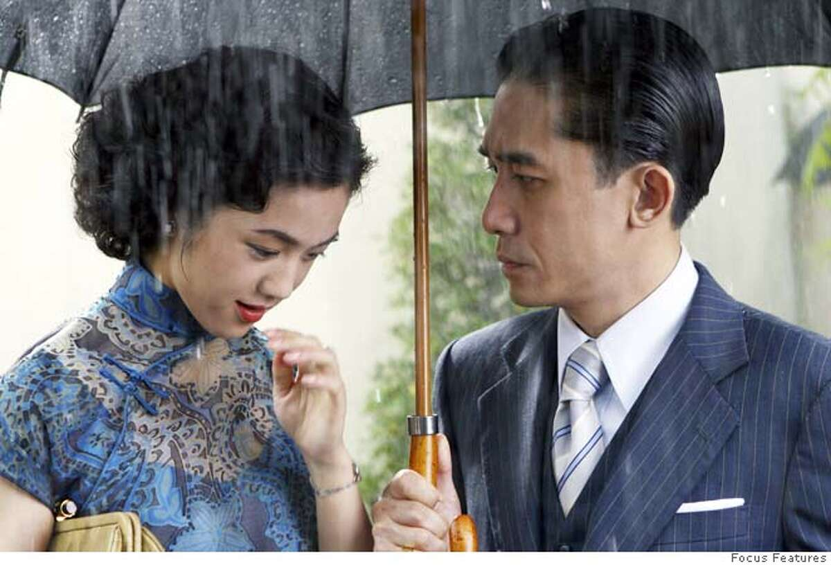 Tang Wei (left) and Tony Leung (right) star in Ang Lee's LUST, CAUTION, a Focus Features release.