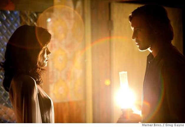 """No Such Thing As Vampire"" -- When a series of vampire-style murders plague LA, immortal investigator Mick St. John (Alex O'Loughlin), who was turned by his wife Coraline (Shannyn Sossamon) on their wedding night, sets out to find the culprits on MOONLIGHT, which premieres on Friday, Sept. 28 (9:00-10:00 PM ET/PT) and to be rebroadcast on Saturday, Sept. 29 (8:00-9:00 PM ET/PT) on the CBS Television Network. Photo: Greg Gayne/Warner Bros.  �2007 Warner Bros. Television. All Rights Reserved. Photo: GREG GAYNE"
