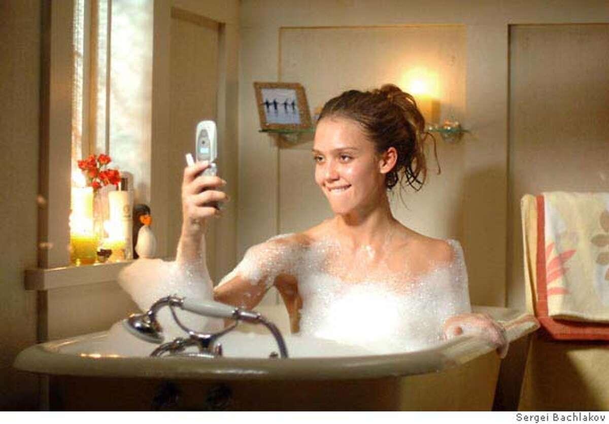 Jessica Alba stars as 'Cam' GOOD LUCK CHUCK. Photo credit: Sergei Bachlakov