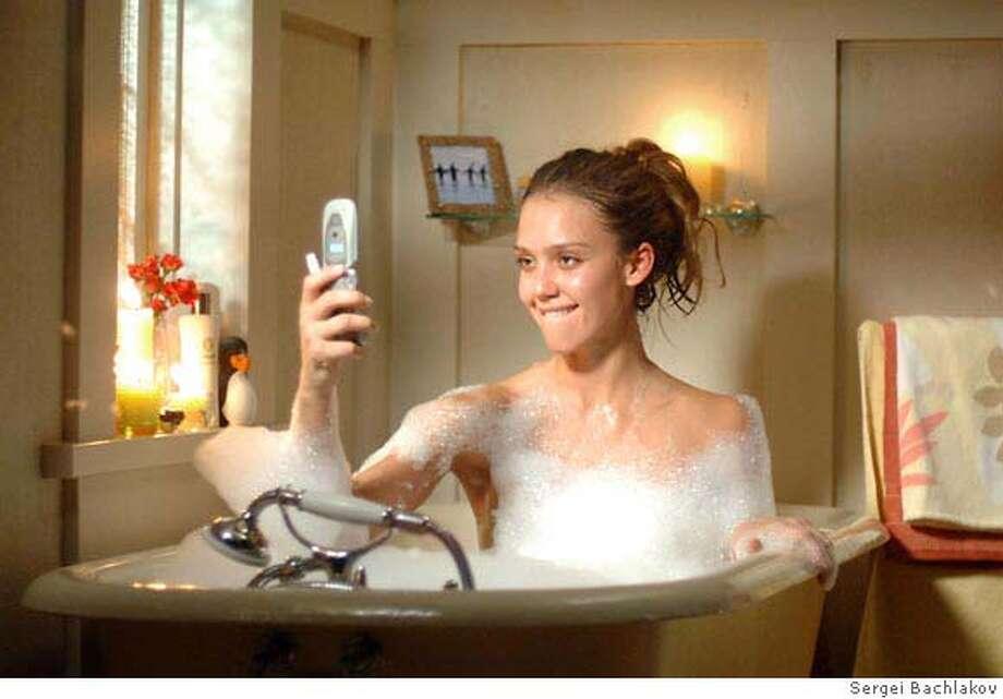 f187e8ff288e Jessica Alba stars as  Cam  GOOD LUCK CHUCK. Photo credit  Sergei Bachlakov