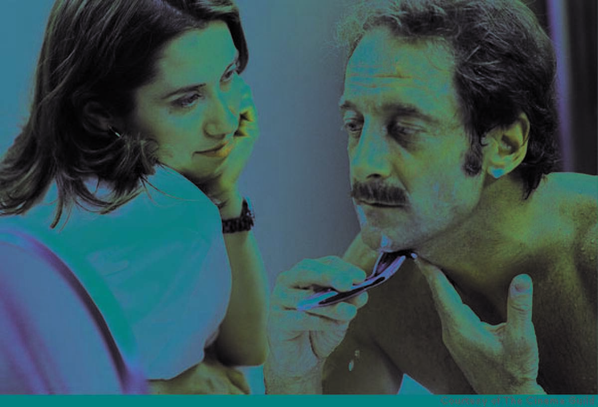 moustache22 077.JPG Emmanuelle Devos and Vincent Lindon in