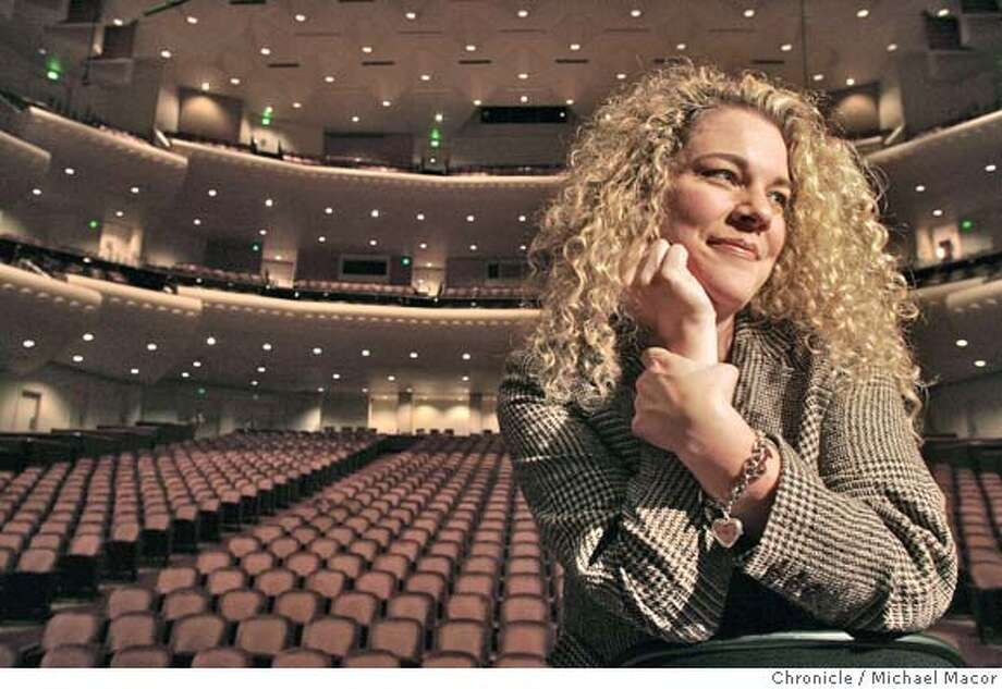 oedipus_059_mac.jpg Mezzo Soprano Michelle DeYoung, who will be part of the team for the big Oedis Rex extravaganza at the San Francisco Symphony with Michael Tilson Thomas conducting. Event in San Francisco, Ca on 12/2/05. Photo by:Michael Macor / San Francisco Chronicle Ran on: 12-08-2005  Michelle DeYoung hit it off with Michael Tilson Thomas early on.  Ran on: 09-16-2007 Photo: Michael Macor