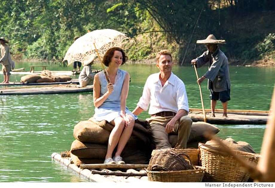 Naomi Watts as Kitty Fane and Edward Norton as Walter Fane in director John Curran�s The Painted Veil, a Warner Independent Pictures release.  PHOTOGRAPHS TO BE USED SOLELY FOR ADVERTISING, PROMOTION, PUBLICITY OR REVIEWS OF THIS SPECIFIC MOTION PICTURE AND TO REMAIN THE PROPERTY OF THE STUDIO. NOT FOR SALE OR REDISTRIBUTION. Photo: Glen Wilson