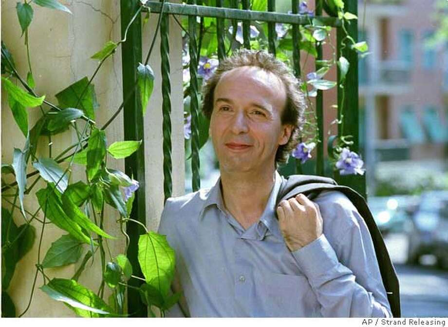 "In this photo provided by Strand Releasing, A love-struck Italian poet (Roberto Benigni) is stuck in Iraq at the onset of an American invasion in ""The Tiger and The Snow."" (AP Photo/Strand Releasing) Photo: Strand Releasing"