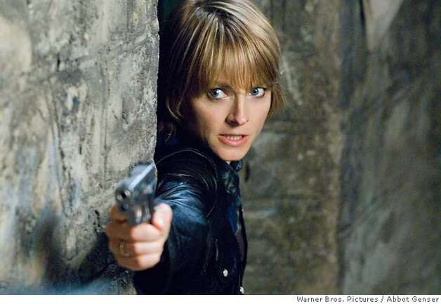 In this photo provided by Warner Bros., Jodie Foster stars as Erica Bain in the psychological thriller The Brave One, (AP Photo/Warner Bros. Pictures/ Abbot Genser) Photo: Abbot Genser