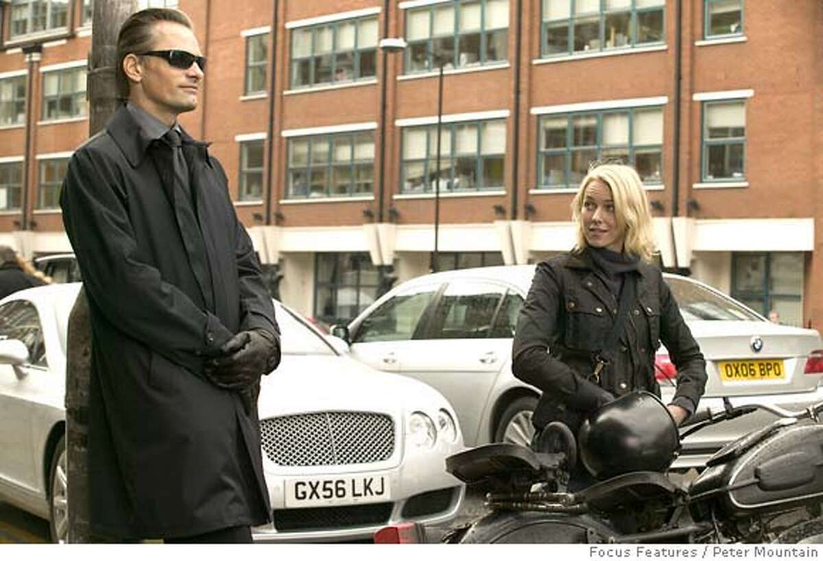 In this photo provided by Focus Features, Viggo Mortensen (left) and Naomi Watts (right) star in